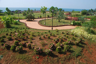 Rock Garden-A Sunset Point in Malvan.