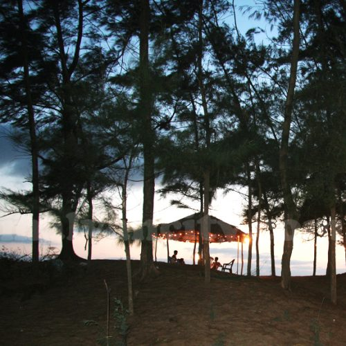 Tondavali Beach - Night View