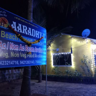 Aaradhya Beach Resort Night View