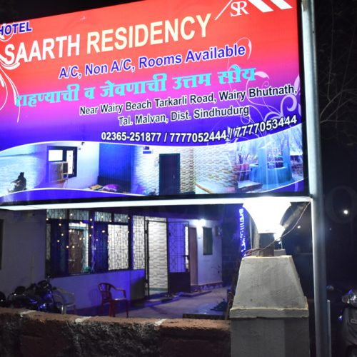 Saarth Residency - Night Exterior View Of home stay